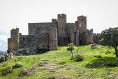 Zřícenina hradu v Salvatiera de los Barros — Stock fotografie
