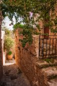 Cityscape at Monemvasia, Peloponnese, Greece — Stock Photo