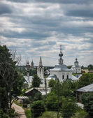 White stone church in Suzdal — Stockfoto