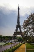 Cityscape with Eiffel Tower, Paris — Foto Stock