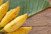 Banány. — Stock fotografie