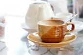 Eine Tasse Kaffee. — Stockfoto