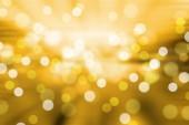 Soft blurred bokeh Yellow background. — Stock Photo