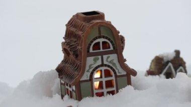 Winter fairy tale — Stock Video