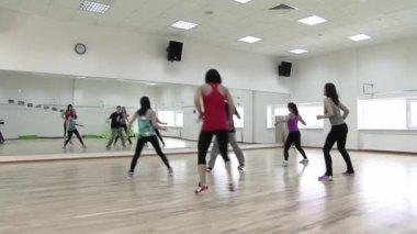 Sport activities - dancing — Stok video