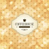 Coffee house menu — Stock Vector