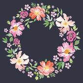 春の花. — ストックベクタ