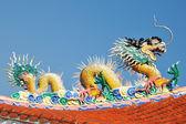 Legend Chinese sea dragon — Stock Photo