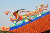 Legend Chinese sea bird — Stock Photo