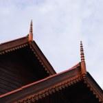 Thai style wood house — Stock Photo #63003885