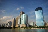 Urban area in Bangkok — Stock Photo