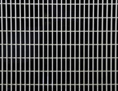 White steel Grill — Stock Photo