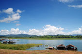River in rural area of Thailand — Stock Photo