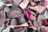 Pieces of a broken vase — Foto Stock