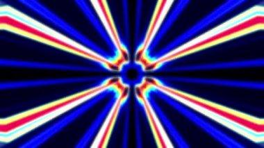 Abstract Pulse Beams — Stock Video