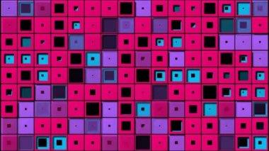 Jasnych kwadratów — Wideo stockowe