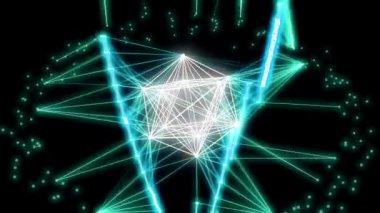 Plexus Space — Stock Video