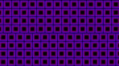 Flash Neon cubes — Stock Video