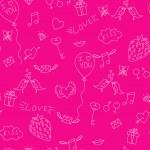 Love seamless pattern — Stock Vector #64060823