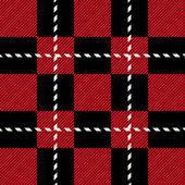 Schotland nahtlose Muster — Stockvektor