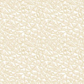 Leather white seamless texture. Vector illustration. — Stock Vector