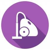Flat Icon of vacuum cleaner — Stock vektor