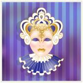 Illustration of a carnival mask. — Stock Vector