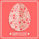 Happy Easter card! — Stock Vector