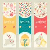 Banner templates. Happy Easter! — Stock Vector