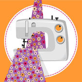 My favorite hobby sewing. — Stock Vector