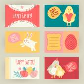 Happy Easter collection — Stock Vector