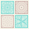 Set of 4 seamless patterns — Stock Vector #83041024