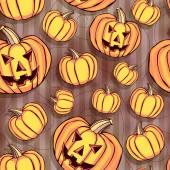 Bezešvé vzor. Veselý halloween. — Stock vektor