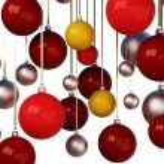 Christmas tree balls multicolored — Stock Photo #62366179
