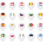 Sphere flags set EU — Stock Vector #66168157