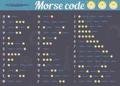 Morse code — Stock Vector
