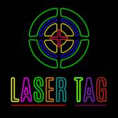 Laser tag — Stock Vector