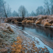 Frozen river — Stock Photo #62420997