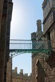 Bridge in castle — Stock Photo