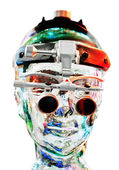 Android head — Stock Photo