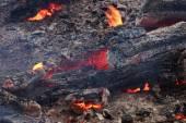 燃烧着的煤 — 图库照片