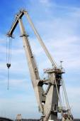 Big power crane — Stock Photo