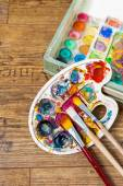 Art supplies — Stock Photo