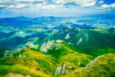 Mountain landscape in summer light — Stock Photo