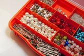 Beads kit hobby handmade — Stock Photo