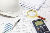 Structural Analysis Calculations — ストック写真