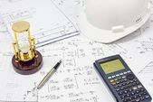 Structural Analysis Calculations — Stock Photo