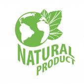 Prodotti naturali — Vettoriale Stock