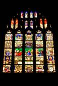 Stain Glass Window — Stock Photo