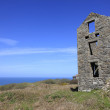 Ancient abandoned Cornish Tin Mine — Stock Photo #62579043